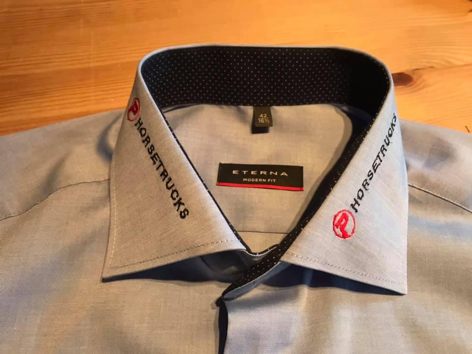 brodering skjorte